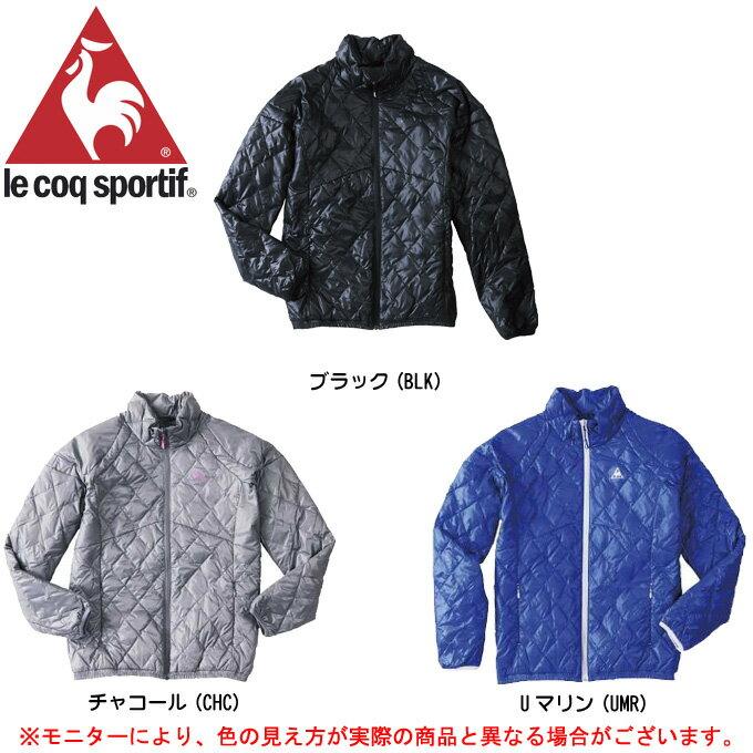 le coq(ルコック)W's ダウンジャケット(QB-585523)(防寒/アウター/ヒートナビ/蓄熱保温/撥水/女性用/レディース)