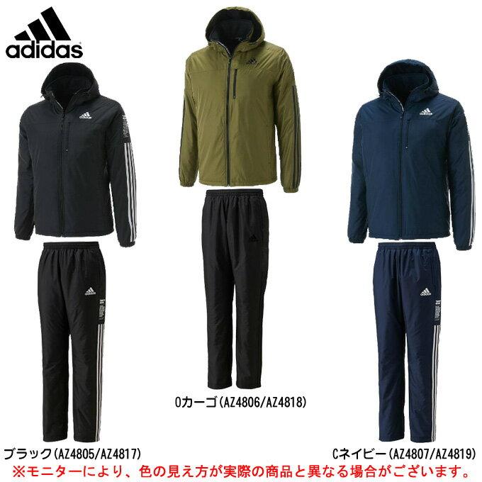 adidas(アディダス)24/7 中綿ウインドブレーカー 上下セット(BV994/BV996)(スポーツ/トレーニング/カジュアル/ジャケット/パンツ/防風/中綿/裏起毛/男性用/メンズ)
