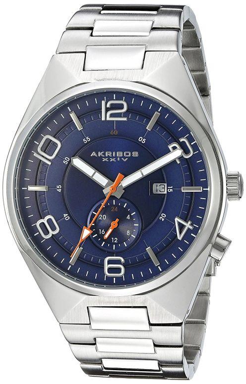 アクリボス Akribos XXIV 男性用 腕時計 メンズ ウォッチ ブルー AK849BU 送料無料