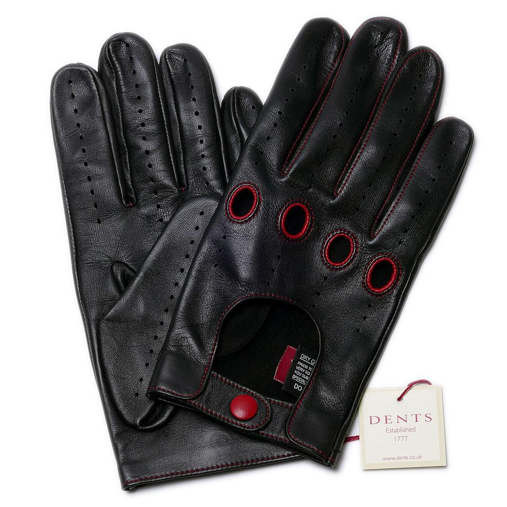 【送料無料】DENTSデンツ ドライビング グローブ 5-1028 (ブラック)メンズ 手袋【手ぶくろ 男性用 誕生日プレゼント】++【dl】brand