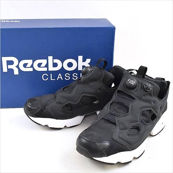 Reebok CLASSIC リーボック クラシック INSTAPUMP FURY OG スニーカー ブラック 28cm【中古】