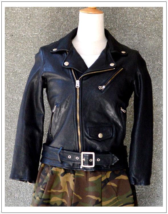 beautiful people/ビューティフルピープルShirink leather riders(1645402401) 【カラー】ブラック【サイズ】140・150