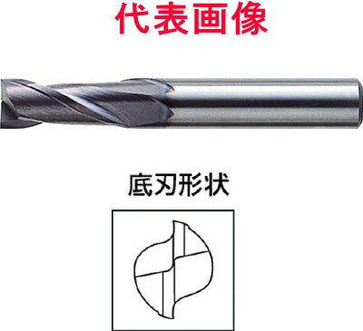 三菱マテリアル ミラクルエンドミル 2枚刃:刃長ミディアム 22.0×38.0×100mm シャンク径:20mm