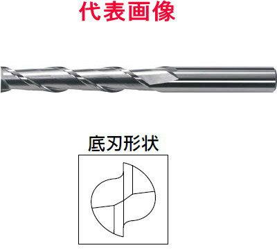 三菱マテリアル アルミ用超硬エンドミル 2枚刃:ロングタイプ 20×70×140mm シャンク径:20mm