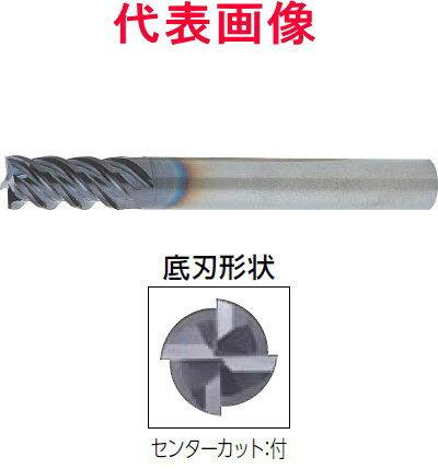 DIJET 超硬エンドミル スーパーワンカップ 4枚刃 刃長:レギュラー スリムシャンク コーナー:R付きタイプ 22×40×130mm R=1.0mm、シャンク径:20mm