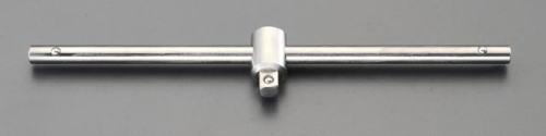 チタン合金製3/8T型スライドハンドル250mm