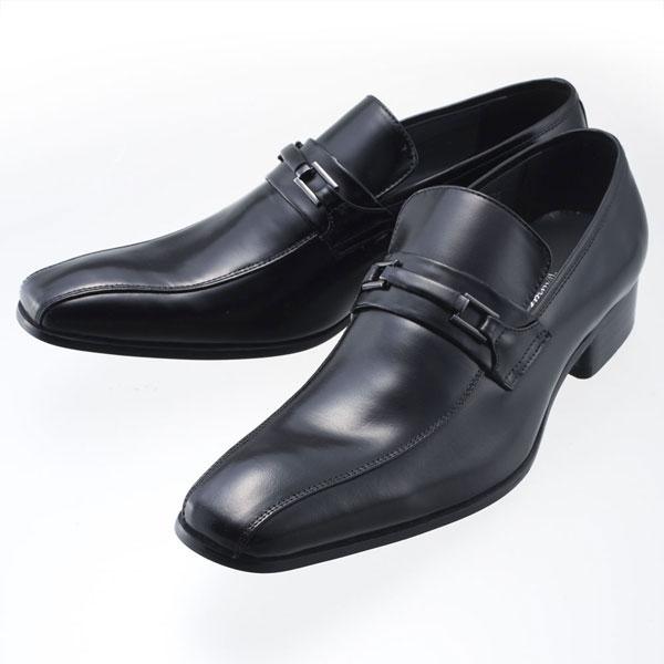 SARABANDE サラバンド モンクストラップ ビジネスシューズ 紳士靴 26.0cm 42サイズ 本革 ブラック 7772-BK-42
