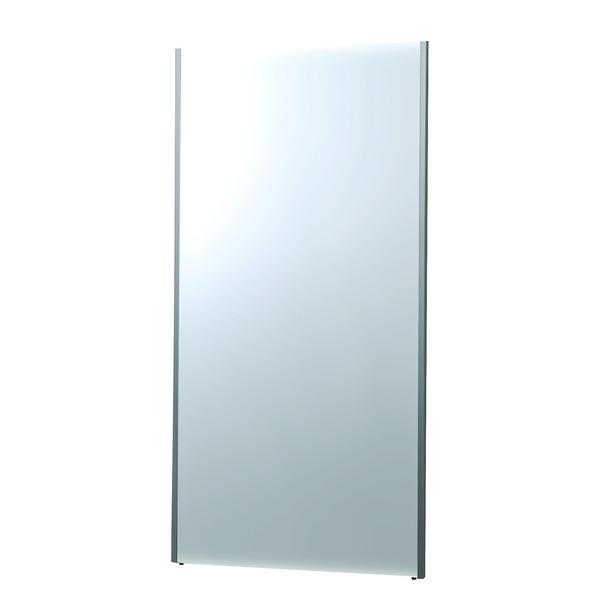 プロ仕様!割れない鏡 【REFEX】リフェクス 姿見 壁掛け対応スタンドミラーW85cm×170cm シルバー色 NRM-7 【日本製】【代引不可】