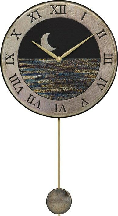 ザッカレラ振り子掛時計(クオーツ)(陶器:イタリア製) ZC181-004[送料無料]