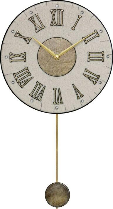 ザッカレラ振り子掛時計(クオーツ)(陶器:イタリア製) ZC182-003[送料無料]