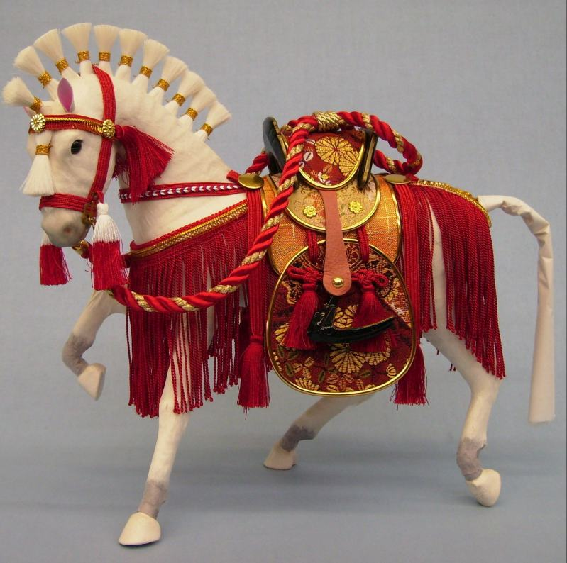10号古代京飾り馬(箱入り)