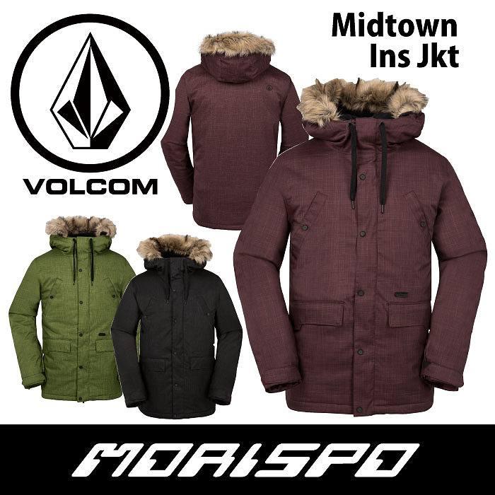 VOLCOM / ボルコム / MIDTOWN INS. JACKET / G0451710 / 16-17 [モリスポ] スノーボードウエア メンズジャケット スノボ
