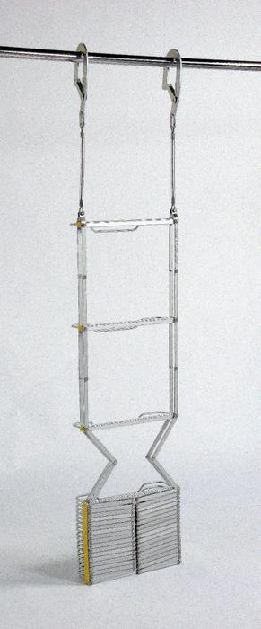 【送料無料】ORIRO アルミ製避難はしご 4型 【2-3階用】