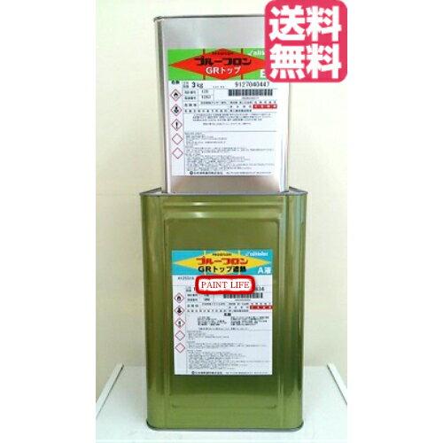 【送料無料】日本特殊塗料プルーフロン GRトップ遮熱各色 18kgセット業務用/遮熱/塗料/塗装/防水