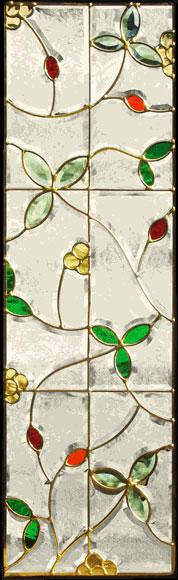 送料無料 ステンドグラス ピュアグラス SH-C11 【三層ステンドグラス/窓/ガラス/ピュアグラス/ステンドグラス】