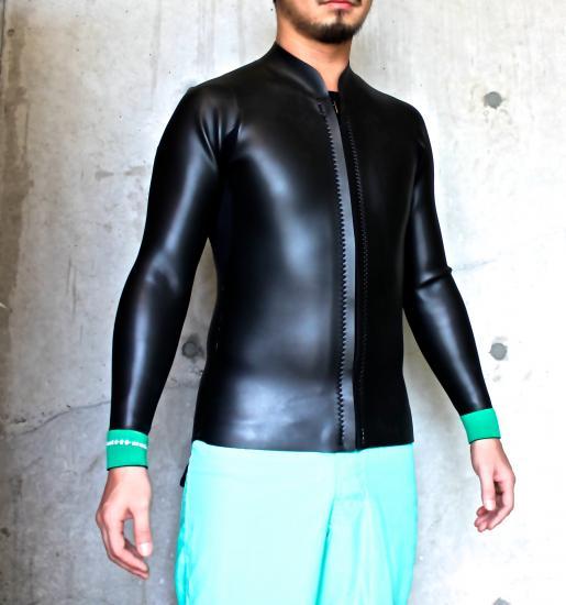 マルチタスク/ウェットスーツ/2/2mm 長袖ジャケットウェットスーツ(Frontzip)