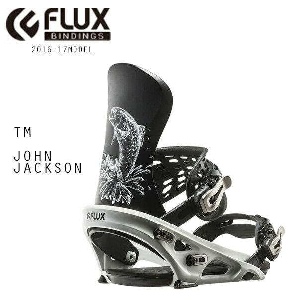 SALEセール 40%OFF スノーボード バインディング ビンディング FLUX フラックス TM JOHN JACKSON 16-17モデル DD J5