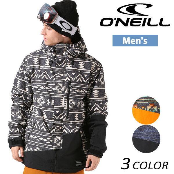 【数量限定】 送料無料 SALE セール 10%OFF スノーボード ウェア ジャケット ONEILL オニール 646-108 17-18モデル メンズ EX K10