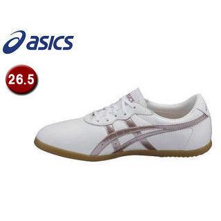 asics/アシックス TOW013-0136 ウーシュー WU 【26.5】 (ホワイト×ライラック)