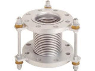 TOFLE/トーフレ フランジ無溶接型防振継手 10K SS400 125A×150L VJ10K125150