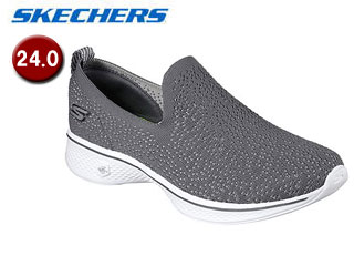 SKECHERS/スケッチャーズ 14918-CHAR GOWALK 4 - GIFTED ウィメンズ 【24.0】(CHARCOAL)