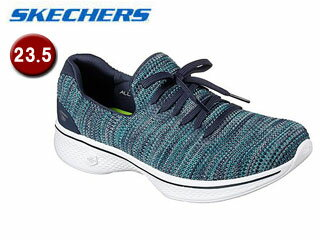 SKECHERS/スケッチャーズ 14919-NVTQ GOWALK 4 - ENJOYER ウィメンズ 【23.5】(NAVY/TURQUISE)