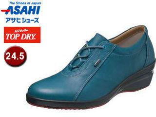 低価格で ASAHI/アサヒシューズ AF39334 TDY39-33 トップドライ レディース 【24.5】 (ブルー)
