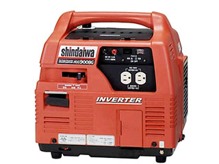 YAMABIKO/やまびこ 【shindaiwa】IEG900BG インバーター発電機(ガスエンジン)(50Hz/60Hz兼用)