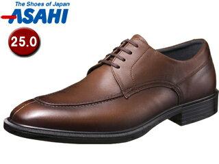 ASAHI/アサヒシューズ AM33082 TK33-08 通勤快足 メンズ・ビジネスシューズ 【25.0cm・3E】 (ブラウン)