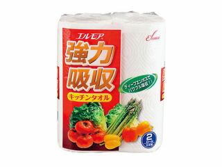 KAMI/カミ商事 エルモア 強力吸収タオル/(1ケース64ロール入)