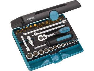 HAZET/ハゼット ソケットレンチセット(差込角6.35mm) 854