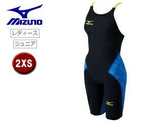 mizuno/ミズノ N2MG6201-92 レディースハーフスーツ GX-SONICIII ST 【2XS】 (ブラック×ブルー)