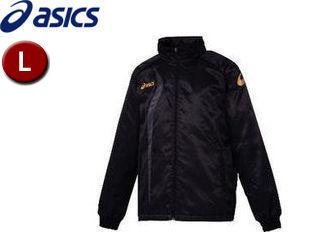 asics/アシックス XAW150-9091 ジャムジーAS2ブレーカージャケット【L】 (ブラック×カーボン)