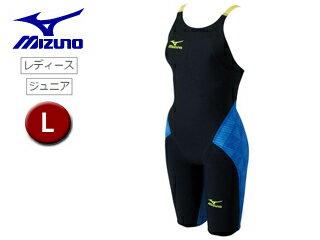 mizuno/ミズノ N2MG6201-92 レディースハーフスーツ GX-SONICIII ST 【L】 (ブラック×ブルー)
