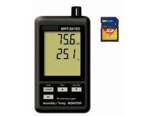 MotherTool/マザーツール MHT-381SD SDカードデータロガデジタル温湿度計