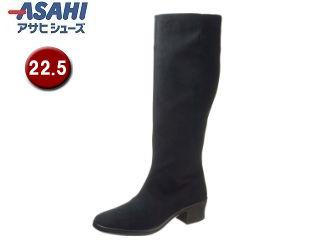 ASAHI/アサヒシューズ AF38941 TDY3894 トップドライ ゴアテックス レディースロングブーツ 【22.5cm・3E】 (ブラック)