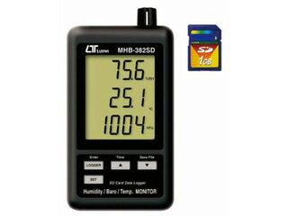 MotherTool/マザーツール MHB-382SD デジタル温湿度・気圧計