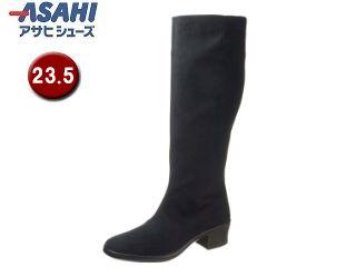 ASAHI/アサヒシューズ AF38941 TDY3894 トップドライ ゴアテックス レディースロングブーツ 【23.5cm・3E】 (ブラック)