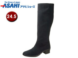 ASAHI/アサヒシューズ AF38941 TDY3894 トップドライ ゴアテックス レディースロングブーツ 【24.5cm・3E】 (ブラック)