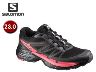 SALOMON/サロモン L38155600 WINGS PRO 2 W 【23.0】 (BLACK/DARK CLOUD/MADDER PINK)