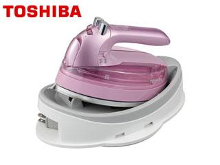 TOSHIBA/東芝 TA-FLW800(P) コードレススチームアイロン (ピンク)