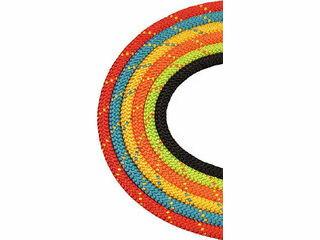 BlueWater Ropes/ブルーウォーターロープス セイフライン 12.7φ×91m 緑/オレンジ 534830GROR