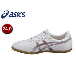 asics/アシックス TOW013-0136 ウーシュー WU 【24.0】 (ホワイト×ライラック)