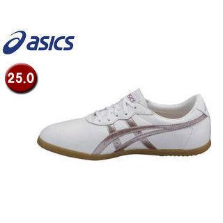 asics/アシックス TOW013-0136 ウーシュー WU 【25.0】 (ホワイト×ライラック)