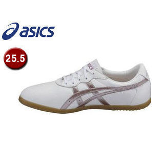 asics/アシックス TOW013-0136 ウーシュー WU 【25.5】 (ホワイト×ライラック)