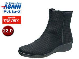 ASAHI/アサヒシューズ AF39299 TDY39-29 トップドライ レインブーツ レディース 【23.0】 (ブラック柄)
