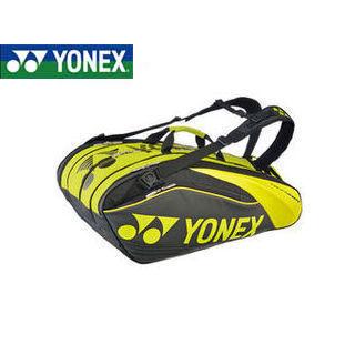 YONEX/ヨネックス BAG1602N-763 PRO series ラケットバック9 リュック付き(ラケット9本用) (ブラック×ライム)