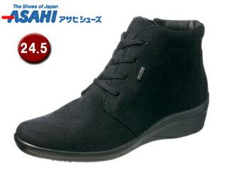 ASAHI/アサヒシューズ AF39571 TDY3957 トップドライ ゴアテックス ショートブーツ 【24.5cm・3E】 (ブラック)