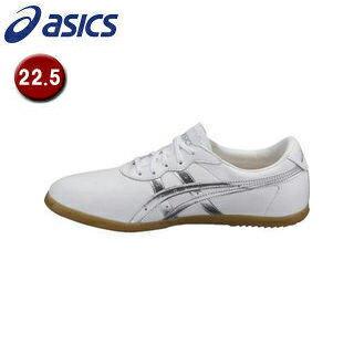 asics/アシックス TOW013-0193 ウーシュー WU 【22.5】 (ホワイト×シルバー)