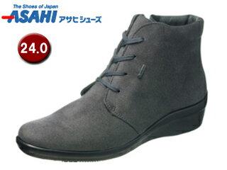 ASAHI/アサヒシューズ AF39577 TDY3957 トップドライ ゴアテックス ショートブーツ 【24.0cm・3E】 (グレー)